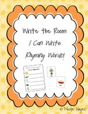 """Write the Room: """"I can Write Rhyming Words!"""""""