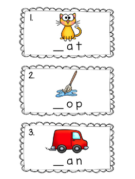 Write the Room: Identifying Beginning Sounds