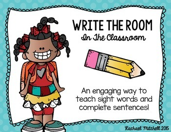 Write the Room: In the Classroom