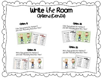 Write the Room {Insects}