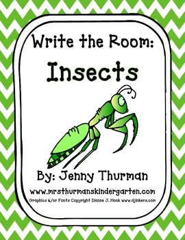 Write the Room: Insects