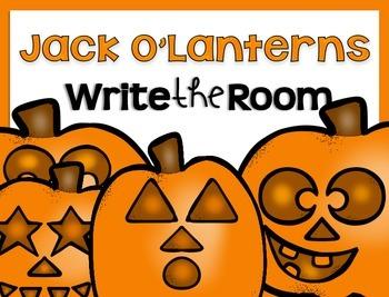Write the Room {Jack O'Lanterns}
