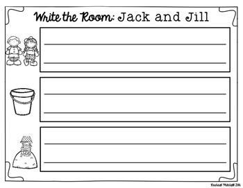 Write the Room: Jack and Jill Nursery Rhyme