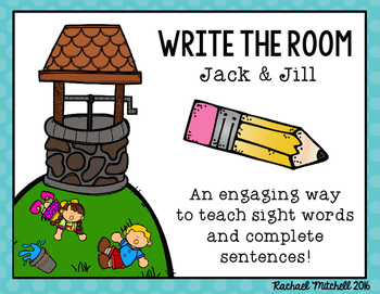 Write the Room: Jack and Jill Nursery Rhyme