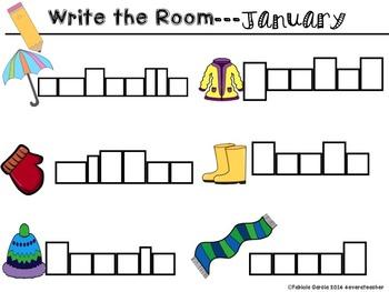 Write the Room-January