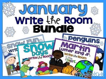 Write the Room {January Bundle}