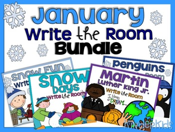 Write the Room {January Bundle}