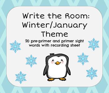 Write the Room: January / Winter Theme