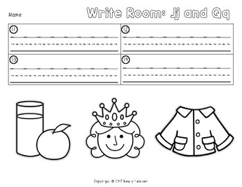Write the Room - Jj and Qq