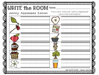 Write the Room (Johnny Appleseed Edition)
