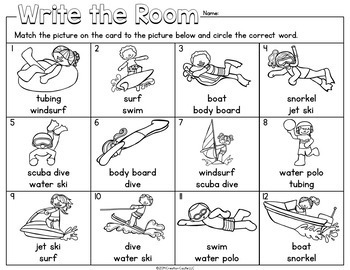 Write the Room - July