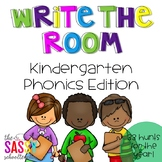 Write the Room - Kindergarten Phonics Edition (33 Hunts fo