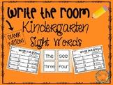 Write the Room Kindergarten Sight Words