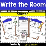 Write the Room Winter  Differentiated