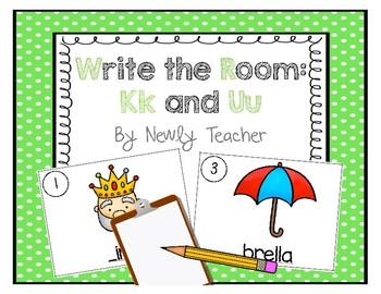 Write the Room - Kk and Uu