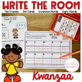 Write the Room Kwanzaa Math and Literacy