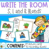 Write the Room for L, R, S blends Bundled
