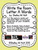 Write the Room - Letter A Words