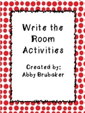 Write the Room (Letter Activity)