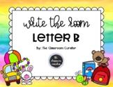 Write the Room  - Letter B