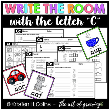 Write the Room - Letter C