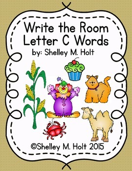 Write the Room - Letter C Words