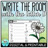 Write the Room - Letter D