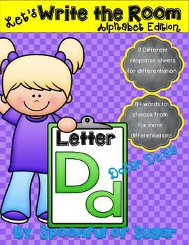 Write the Room: Letter Dd (Dollar Deal!)
