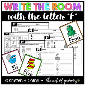 Write the Room - Letter F
