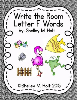 Write the Room - Letter F Words