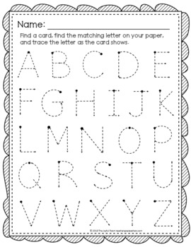 Write the Room: Letter Formation