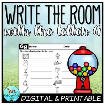 Write the Room - Letter G