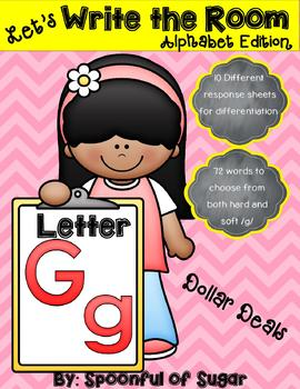 Write the Room: Letter Gg (Dollar Deal)
