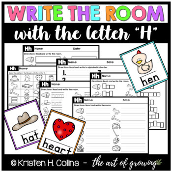 Write the Room - Letter H