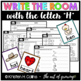Alphabet Write the Room - Letter H