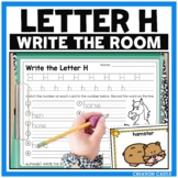 Alphabet Write the Room - Letter H