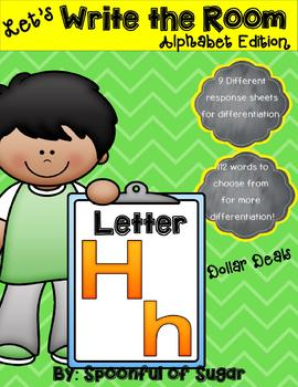 Write the Room: Letter Hh (Dollar Deal)