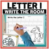 Alphabet Write the Room - Letter I