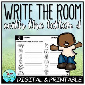 Write the Room - Letter J