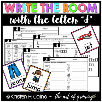 Write the Room - Letter J