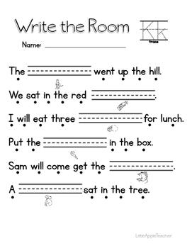 Write the Room - Letter K