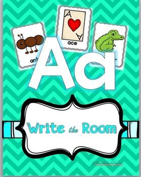 Write the Room Letter K