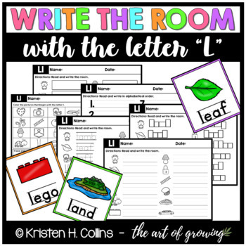 Write the Room - Letter L