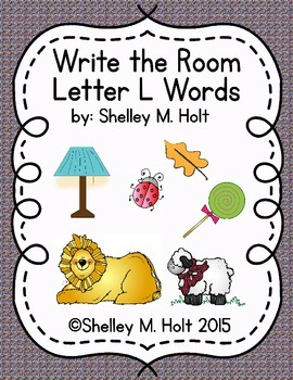 Write the Room - Letter L Words