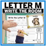 Alphabet Write the Room - Letter M