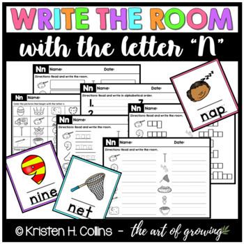 Write the Room - Letter N