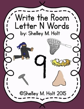 Write the Room - Letter N Words