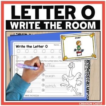 Alphabet Write the Room - Letter O