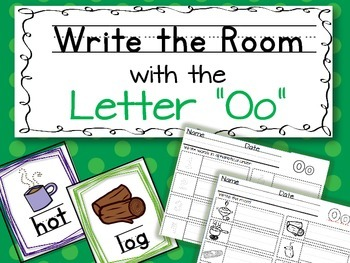 Write the Room - Letter O