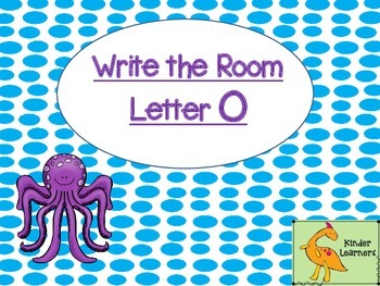 Write the Room Letter O